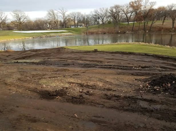Hole 12- new forward tee construction